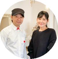 Hairmake Perle(ヘアメイク ) 川久保 愛さん&公人さん